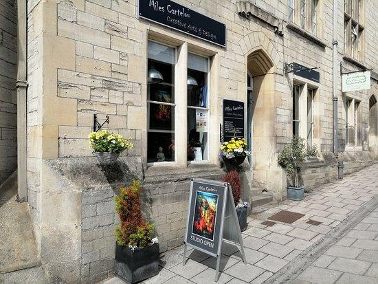 Bradford-on-Avon, UK: Miles Cantelou | Gallery & Studio