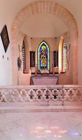 Superbe couleurs d'intérieur de la chapelle