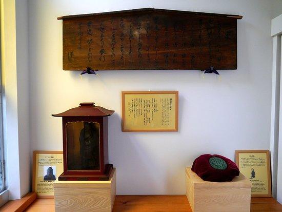 禁教時代の展示物、踏絵の展示もありました。