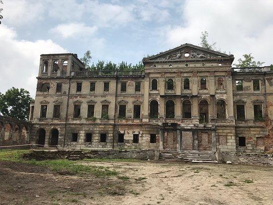 Ruiny Pałacu Sławików