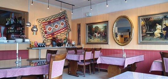 Leknes, Noorwegen: Litt av restauranten