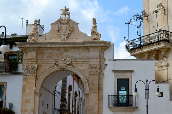 Martina Franca on the edge of the Valle d'Itria