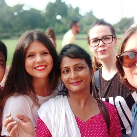 Lalita Arora - Taj Tour Guide