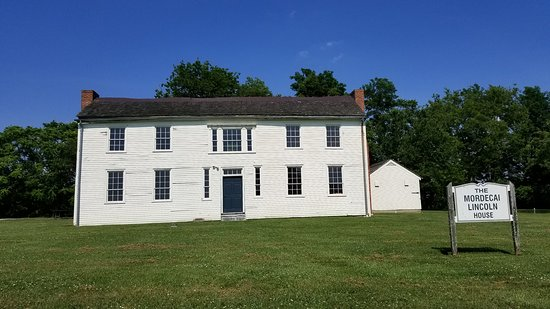 Mordecai Lincoln home - Abe's uncle