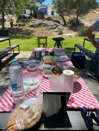 We prepared our own meals, had great bar b q's