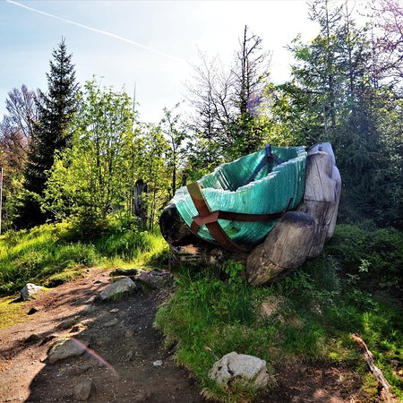 Grafenau, Alemania: Hiking tip for the Bavarian Forest: Past the glass ark via the summer path on the Lusen. With a walking time of 2 hours and an altitude difference of 280 meters, it is a very relaxed tour. #hiking #nature