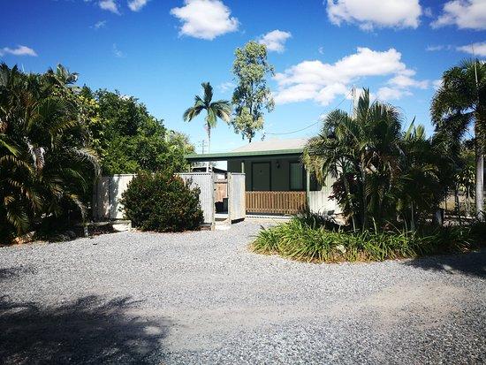 Chillagoe, أستراليا: Private patio cabin
