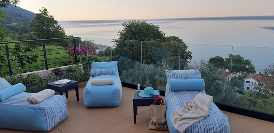 Relaxing moments with outstanding view