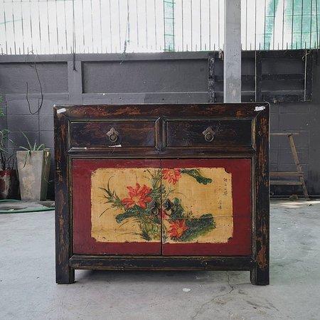 Mongolian Antique Cabinet