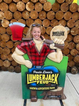 Paula Deen's Lumberjack Feud Show and Adventure Park Ticket: lumberjack