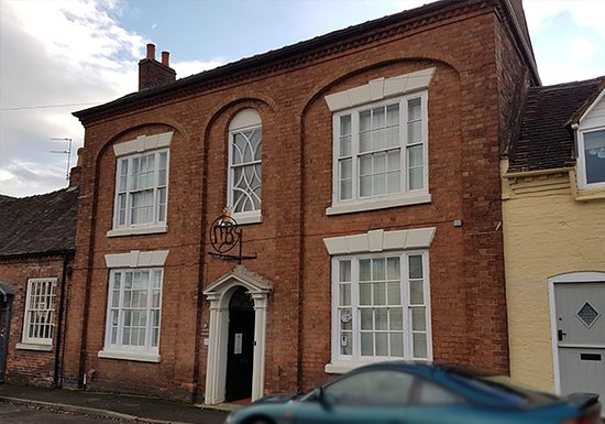 Broseley, UK: Front of The Angel Gallery