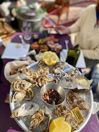 Les huîtres dé Bretagne