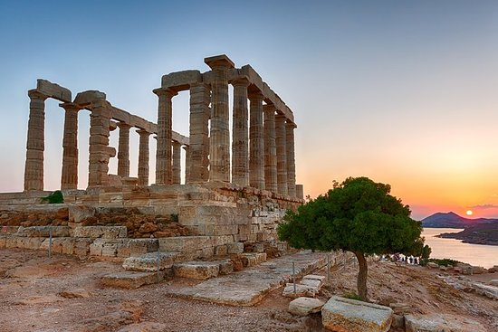 Temple of Poseidon and Cape of Sounion...