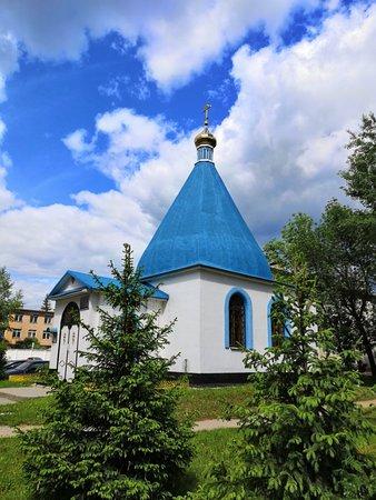 Голубой купол на фоне голубого неба...