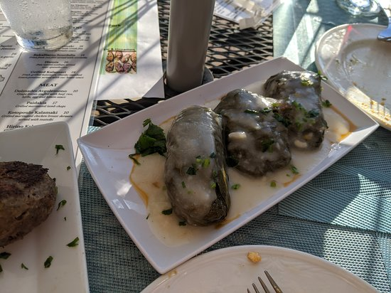 dolmades with meat