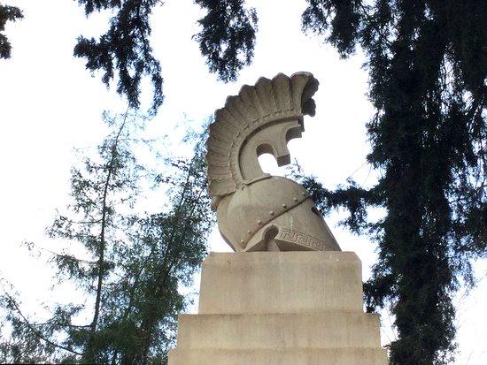 Monument To Fallen Greeks In The Battle Of Domokos