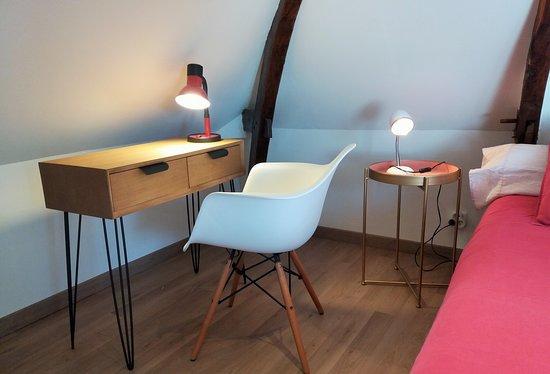 Auffay, Fransa: Chambre 3 - Le Clocher Cette chambre est située au 2nd étage