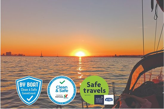 Sunset Sailing Tour in Lisbon on a...