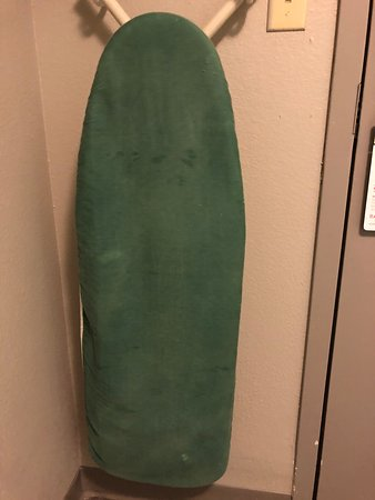 Dirty ironing board cover - not sure how this even happens