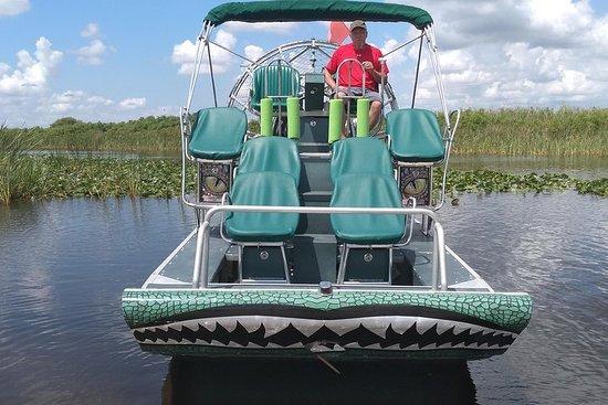 Excursion en bateau à air de Palm Beach dans The Swamp Monster