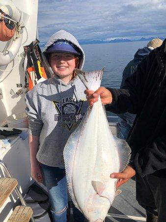 Fishing in Alaska with Aloha