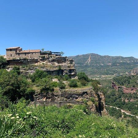 """Siurana, Spain:  """"El Priorat es un país tormentoso, cataclismática, de una violencia geológica impresionante. Josep Pla (1971)"""