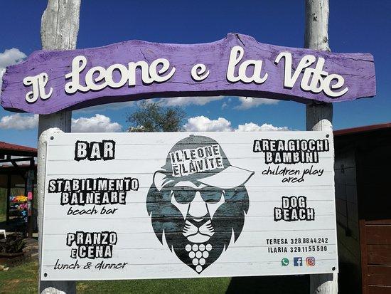 Gradoli, Italy: Il leone e la vite