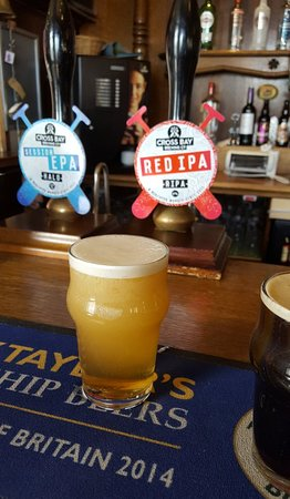 Merseyside, UK: The Brewery Tap in Cains Brewery Village