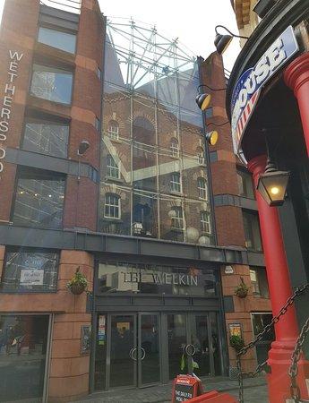The Welkin Pub in Mathew Street.