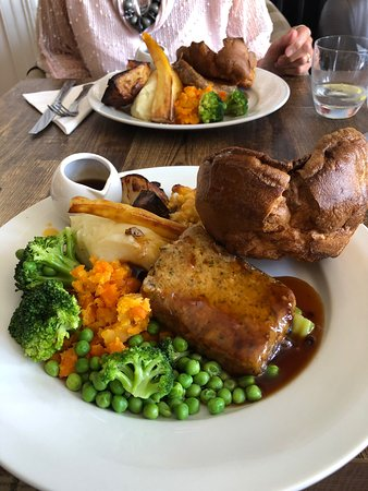 Sunday Lunch, well worth a visit