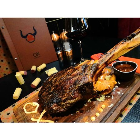 1kg tomahawk steak, or one kg of perfection