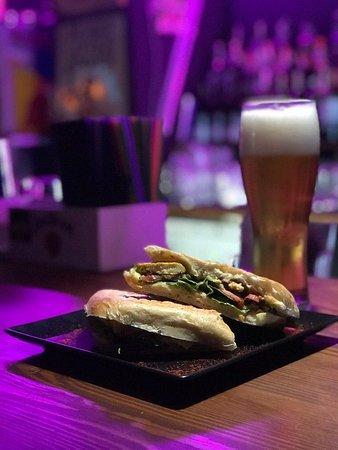Tasty ciabatta in Sympatia Bar