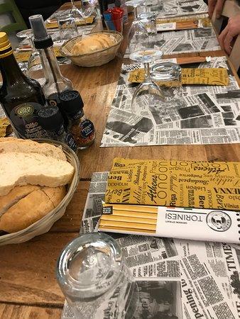 Pompeiana, Olaszország: Service à table