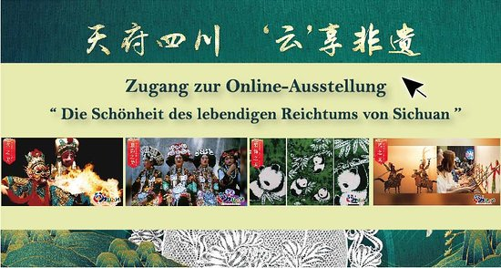 """Chengdu, Kiina: On the 2020 China Cultural and Natural Heritage Day, the Sichuan Provincial Department of Culture and Tourism and China Cultural Centre launched the """"The beauty of Living Wealth""""online exhibition to put spotlight on glorious heritage, allowing netizens at home and abroadenjoying the beauty of intangible cultural heritage of Sichuan."""