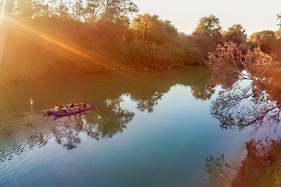 Canoe nel Parco della Maremma