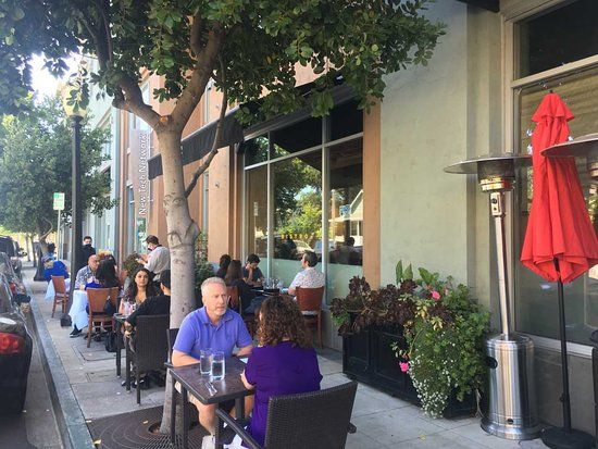 We've added 8 more tables to our outside patio to put all our guests at ease to enjoy thier time with us at Bistro.
