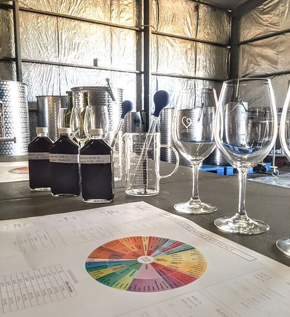 Visitors can try our 'Play the Winemaker' experience, where you will blend your own wine (with help from our winemaker!) to bottle and take home.