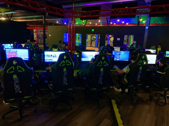 Our gaming arena, only one in the south east!