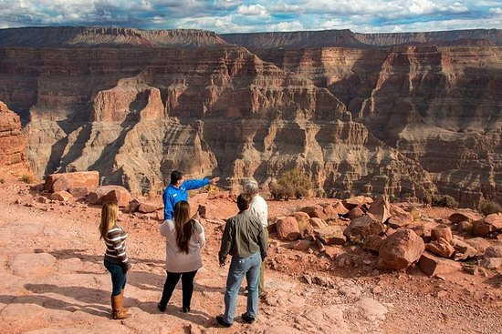 Opplev Grand Canyon West Rim med...
