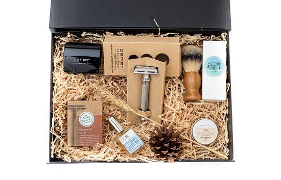 Gold Coast (Altın Sahil), Avustralya: Shaving set for gentlemen. Eco friendly and natural.