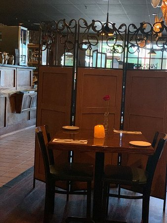 An Interior View Of The Dining Room Area Different Angle Picture Of Grazie Ristorante Tukwila Tripadvisor