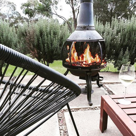 The Residence - Chiminea on the terrace