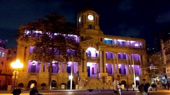 Canton Custom House Clock Tower
