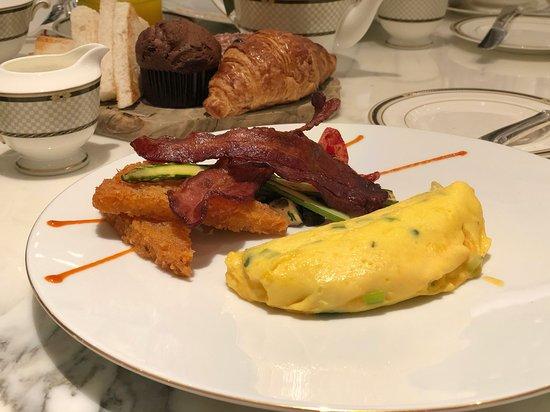 Breakfast at the sister property - Ritz Carlton Macau next door