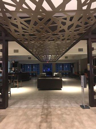 Marriott Orlando hotel common areas