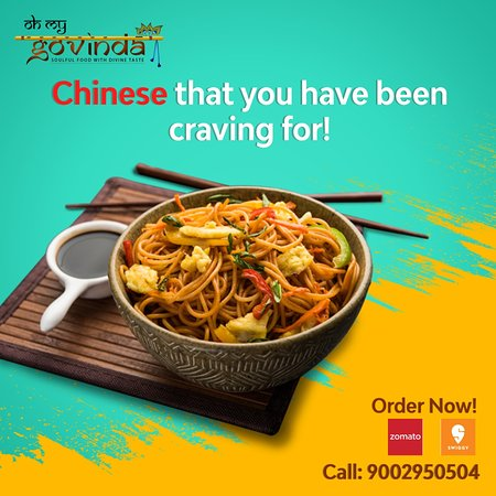 Have Noodle craving? Order Noodles from Oh My Govinda