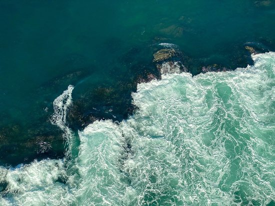 Naruto Whirlpool from the Above
