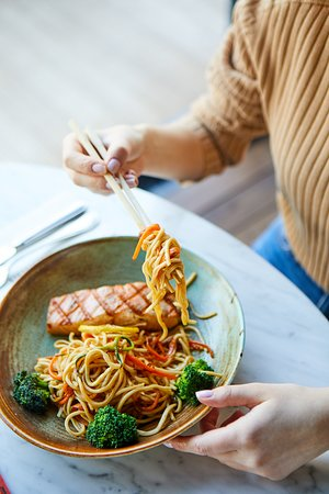 Noodle & Salmon