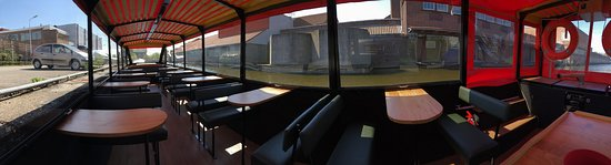 Aalsmeer, Holland: Interieur Rondvaartboot