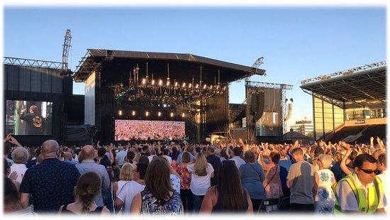 Sold Out Elton John concert at tha DCBL Stadium